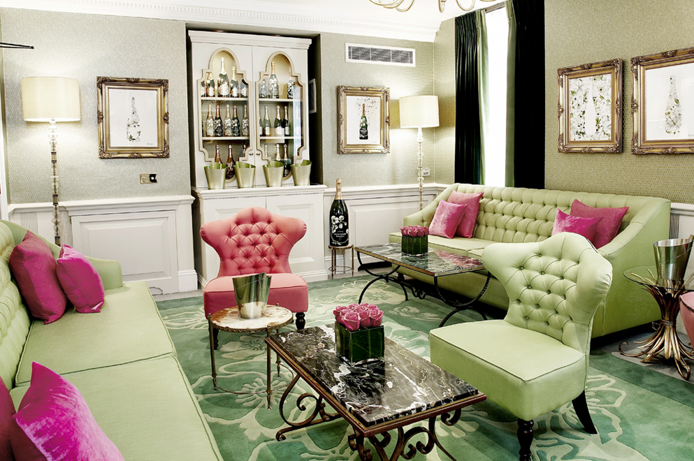 Perrier Jouet Salon at Dukes Hotel